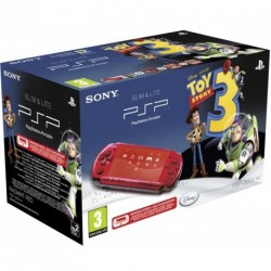 SONY PSP 3000 Radiant Red pack Toy Story 3