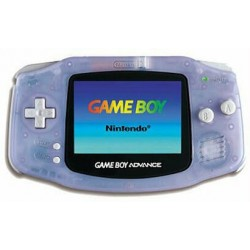 Game Boy Advance Violette Transparente