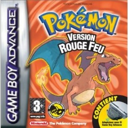 Pokemon Version Rouge Feu