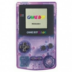 Game Boy Color Violette Transparente