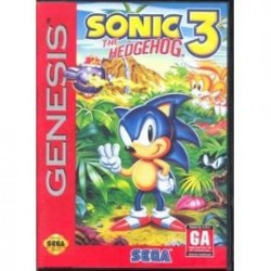 Sonic 3 The Hedgehog US