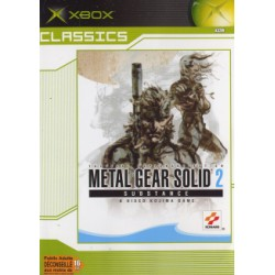 Metal Gear Solid 2 Substence Classics