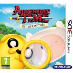 ADVENTURE TIME FINN ET JAKE MENENT L ENQUETE