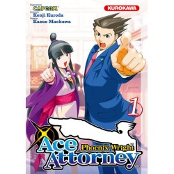 Ace Attorney Phoenix Wright Tome 01