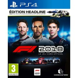 F1 2018 Edition Headline