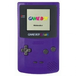Game Boy Color Violette