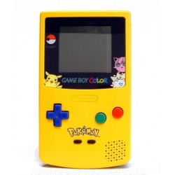Game boy color pikachu edition