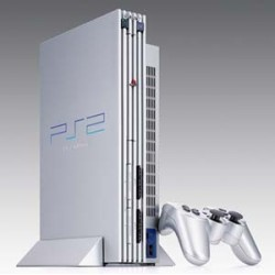 Sony PS2 Silver