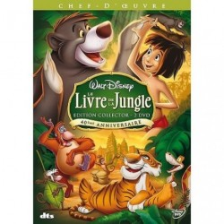 Le livre de la jungle Edition Collector 2 DVD 40eme anniversaire